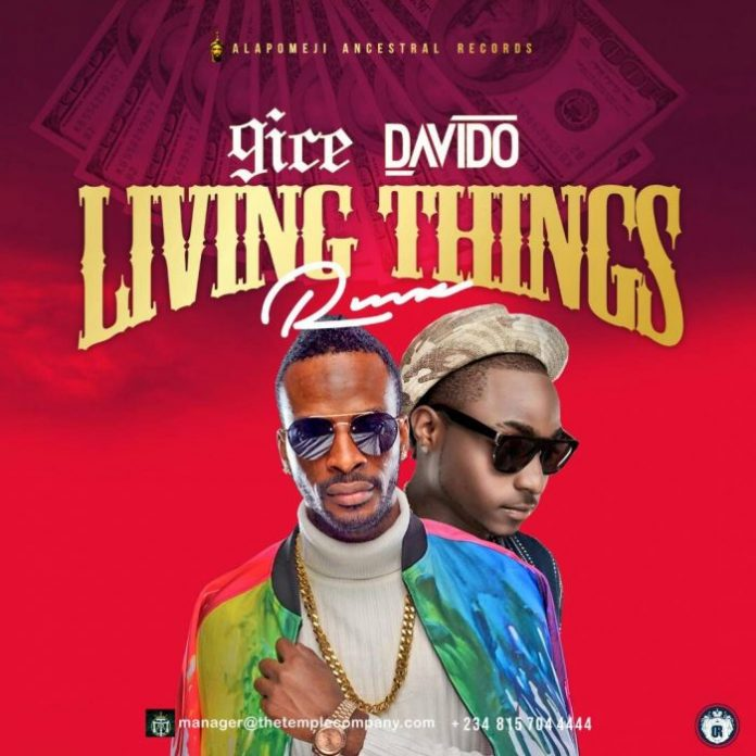 9ice Living Things ft. Davido mp3 download