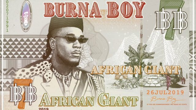 Burna Boy African Giant mp3 download
