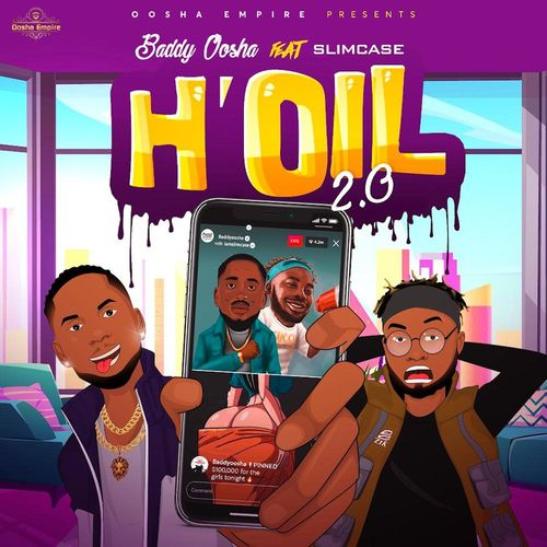 Baddy Oosha  H'oil 2.0 (Remix) Ft. Slimcase mp3 download