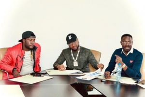 Davido Officially Signs Deinde To His DMW Record Label