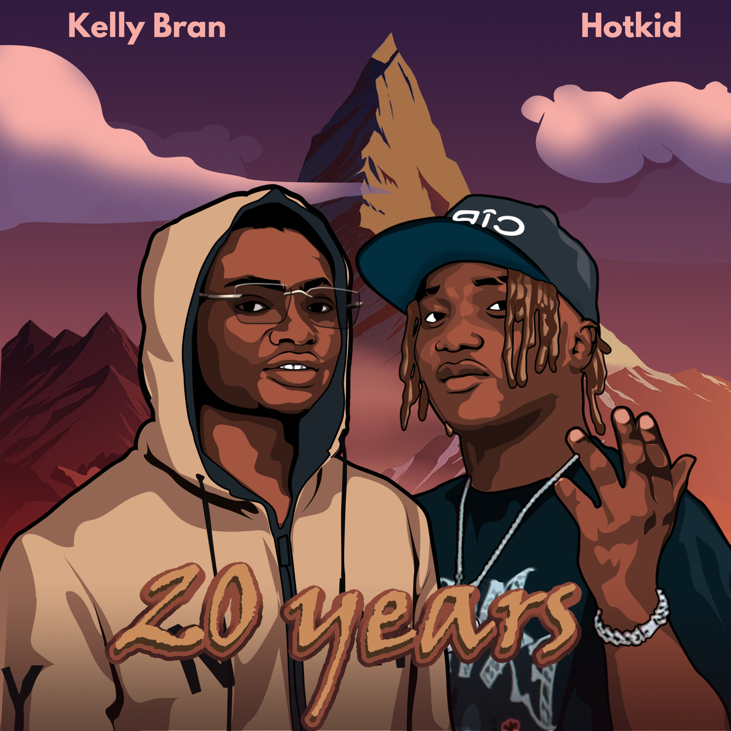 Kelly Bran Ft. Hotkid  20 Years mp3 download